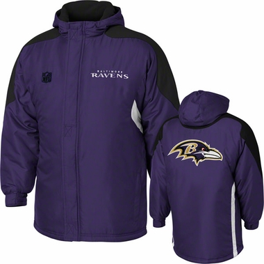 Baltimore Ravens YOUTH Field Goal Midweight Full Zip Hooded Jacket