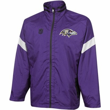 Baltimore Ravens YOUTH Goal Post Lightweight Full Zip Jacket