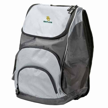 Baylor Action Backpack (Color: Grey)