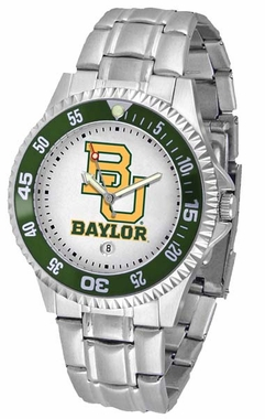 Baylor Competitor Men's Steel Band Watch