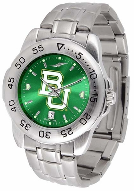 Baylor Sport Anonized Steel Band Mens Watch