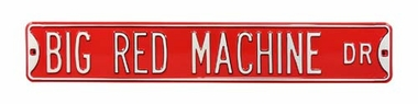 Big Red Machine Dr Street Sign