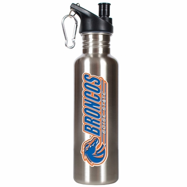 Boise State 26oz Stainless Steel Water Bottle (Silver)