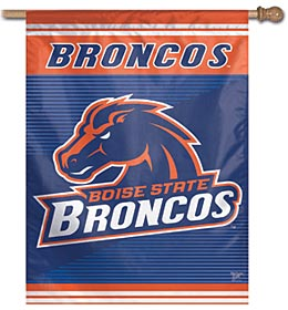 """Boise State Broncos 27""""x37"""" Banner"""