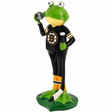 Boston Bruins 12 Inch Frog Player Figurine