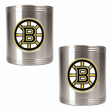 Boston Bruins 2 Can Holder Set