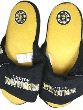 Boston Bruins 2011 Open Toe Hard Sole Slippers