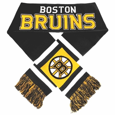 Boston Bruins 2012 Team Stripe Knit Scarf
