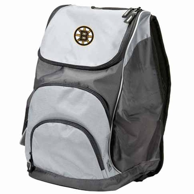 Boston Bruins Action Backpack (Color: Grey)