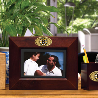 Boston Bruins BROWN Landscape Picture Frame