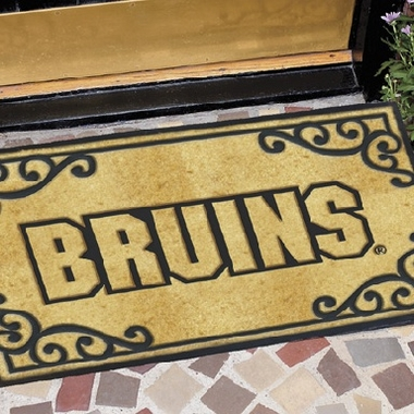 Boston Bruins Exterior Door Mat