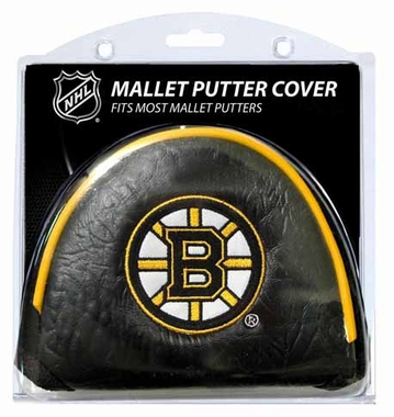 Boston Bruins Mallet Putter Cover