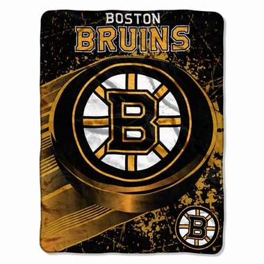 Boston Bruins Microfiber Throw