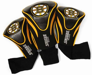 Boston Bruins Set of Three Contour Headcovers