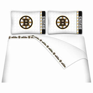 Boston Bruins Sheet Set