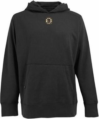 Boston Bruins Mens Signature Hooded Sweatshirt (Color: Black)