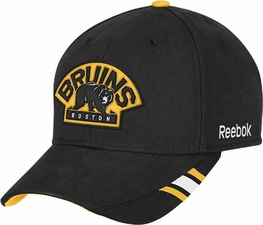 Boston Bruins Structured Adjustable Third Jersey Logo Hat