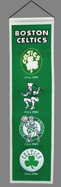 Boston Celtics Heritage Banner