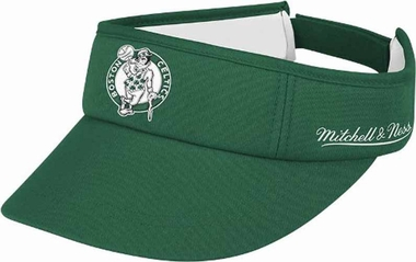 Boston Celtics Mitchell & Ness Throwback Adjustable Summer Visor