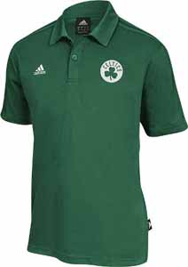 Boston Celtics NBA On-Court Coaches Polo Shirt - Small