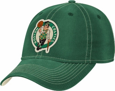 Boston Celtics Slouch Washed Adjustable Hat