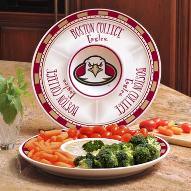 Boston College Ceramic Chip and Dip Plate