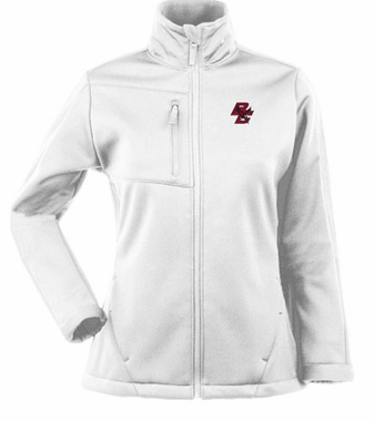 Boston College Womens Traverse Jacket (Color: White)
