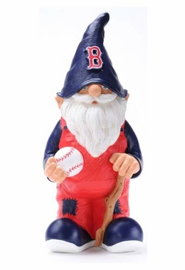 "Boston Red Sox Garden Gnome - 11"" Male"