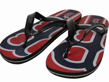 Boston Red Sox 2012 Unisex Big Logo Flip Flops - Medium