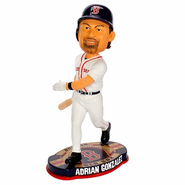 Boston Red Sox Adrian Gonzalez 2012 Baseball Base Bobblehead