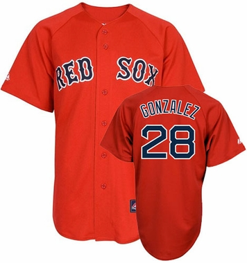 Boston Red Sox Adrian Gonzalez Replica Player Jersey (Alternate)