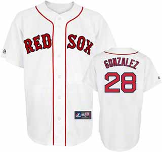 Boston Red Sox Adrian Gonzalez Replica Player Jersey - Large