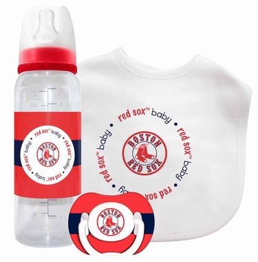 Boston Red Sox Baby Gift Set