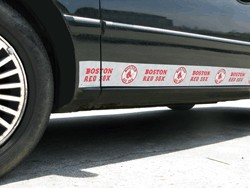 Boston Red Sox Car Trim Magnets