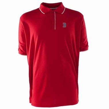 Boston Red Sox Mens Elite Polo Shirt (Color: Red)
