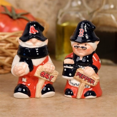 Boston Red Sox Gnome Salt & Pepper Shakers