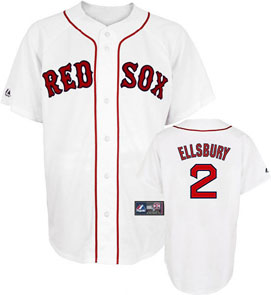 Boston Red Sox Jacoby Ellsbury Replica Player Jersey - Small