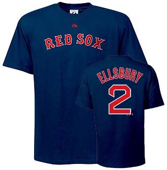 Boston Red Sox Jacoby Ellsbury YOUTH Name and Number T-Shirt