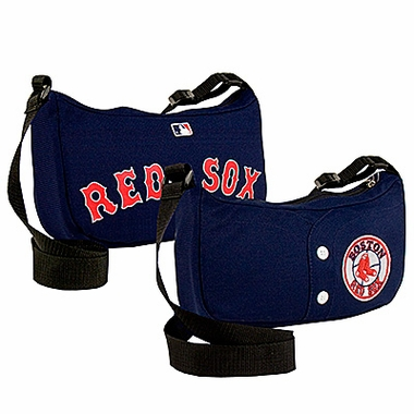 Boston Red Sox Jersey Material Purse