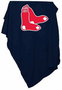 Boston Red Sox Sweatshirt Blanket