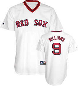 Boston Red Sox Ted Williams Replica Throwback Jersey - XX-Large