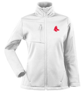 Boston Red Sox Womens Traverse Jacket (Color: White) - Medium