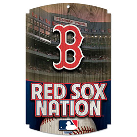 Boston Red Sox Wood Sign - Red Sox Nation