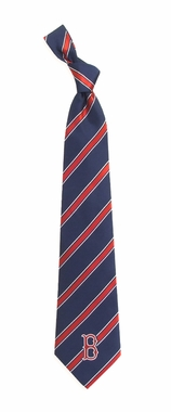 Boston Red Sox Woven Poly 1 Necktie