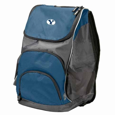 Brigham Young Action Backpack (Color: Navy)