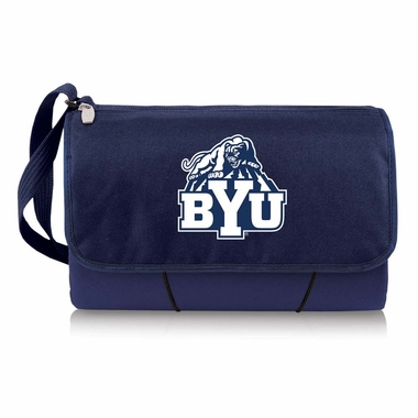 Brigham Young Blanket Tote (Navy)