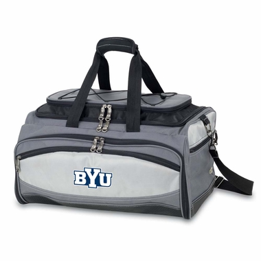 Brigham Young Buccaneer Tailgating Embroidered Cooler (Black)