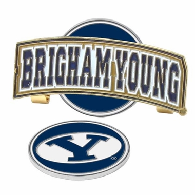 Brigham Young Slider Clip With Ball Marker