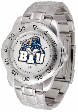Brigham Young Sport Men's Steel Band Watch
