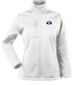 Brigham Young Womens Traverse Jacket (Color: White) - Small